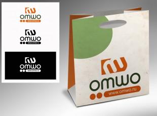 Разработка логотипа для интернет-магазина хозяйственных товаров и бытовых приборов Omwo.ru