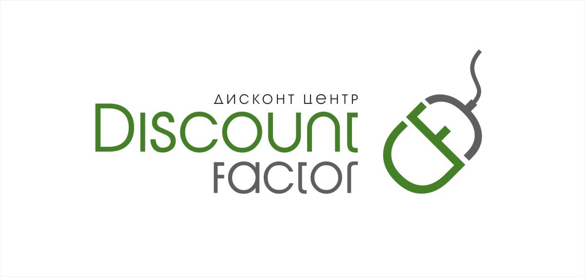 """Логотип """"Дисконт фактор"""""""