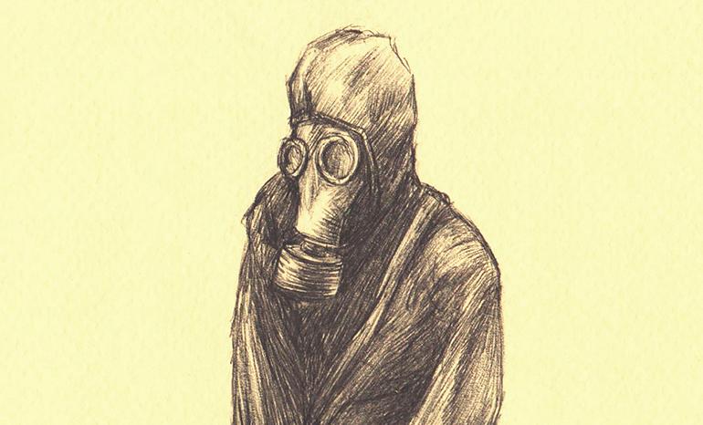 Рисунок по фильму «Письма мертвого человека»