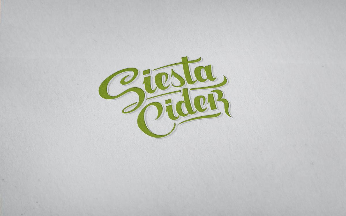 Логотип для Сиеста Сидр