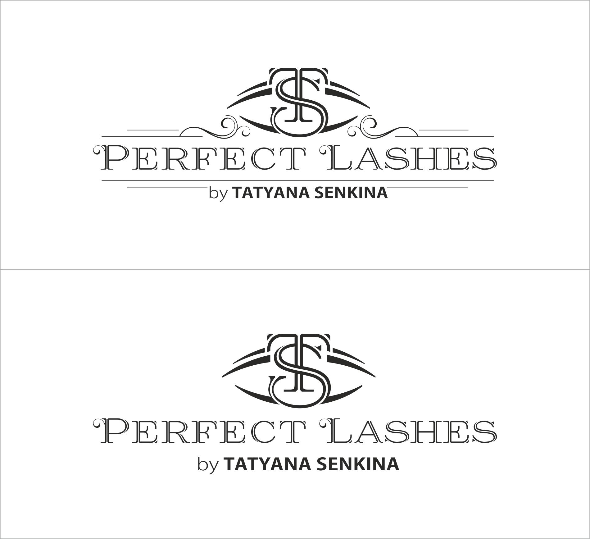Набросок логотипа Perfect Lashes1