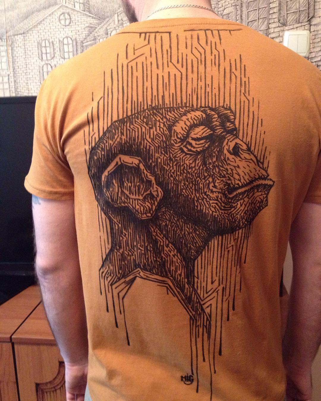 Рисунок на футболке1