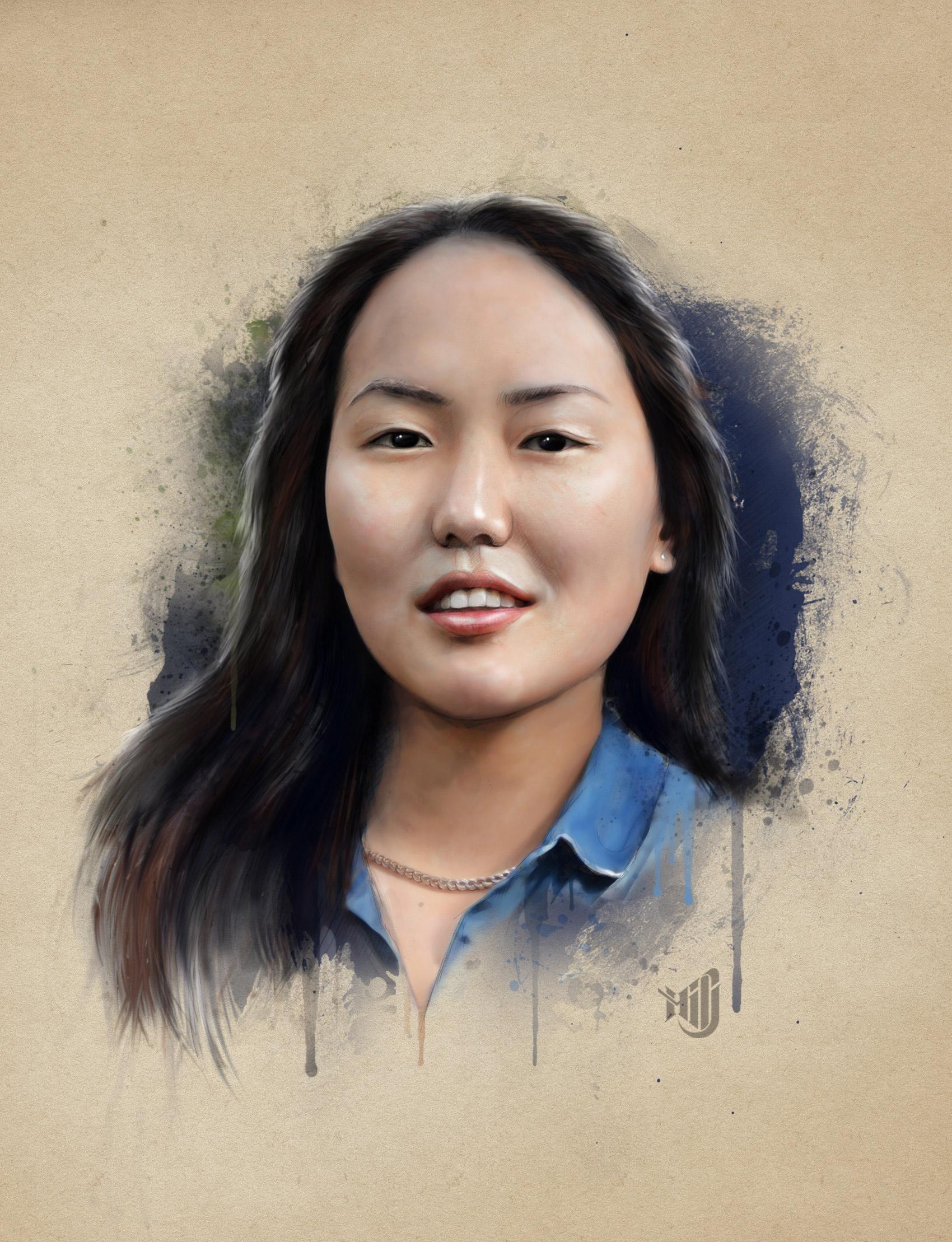 Цифровой портрет по фото