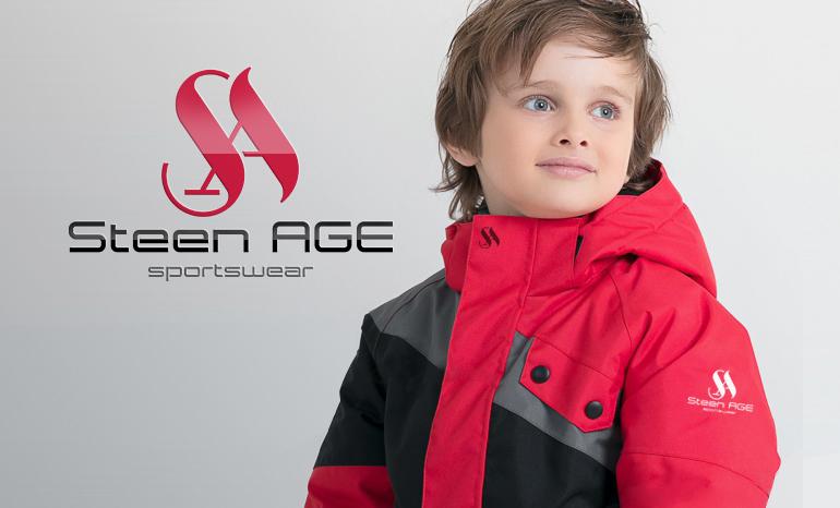 Разработка логотипа для спортивной детской одежды