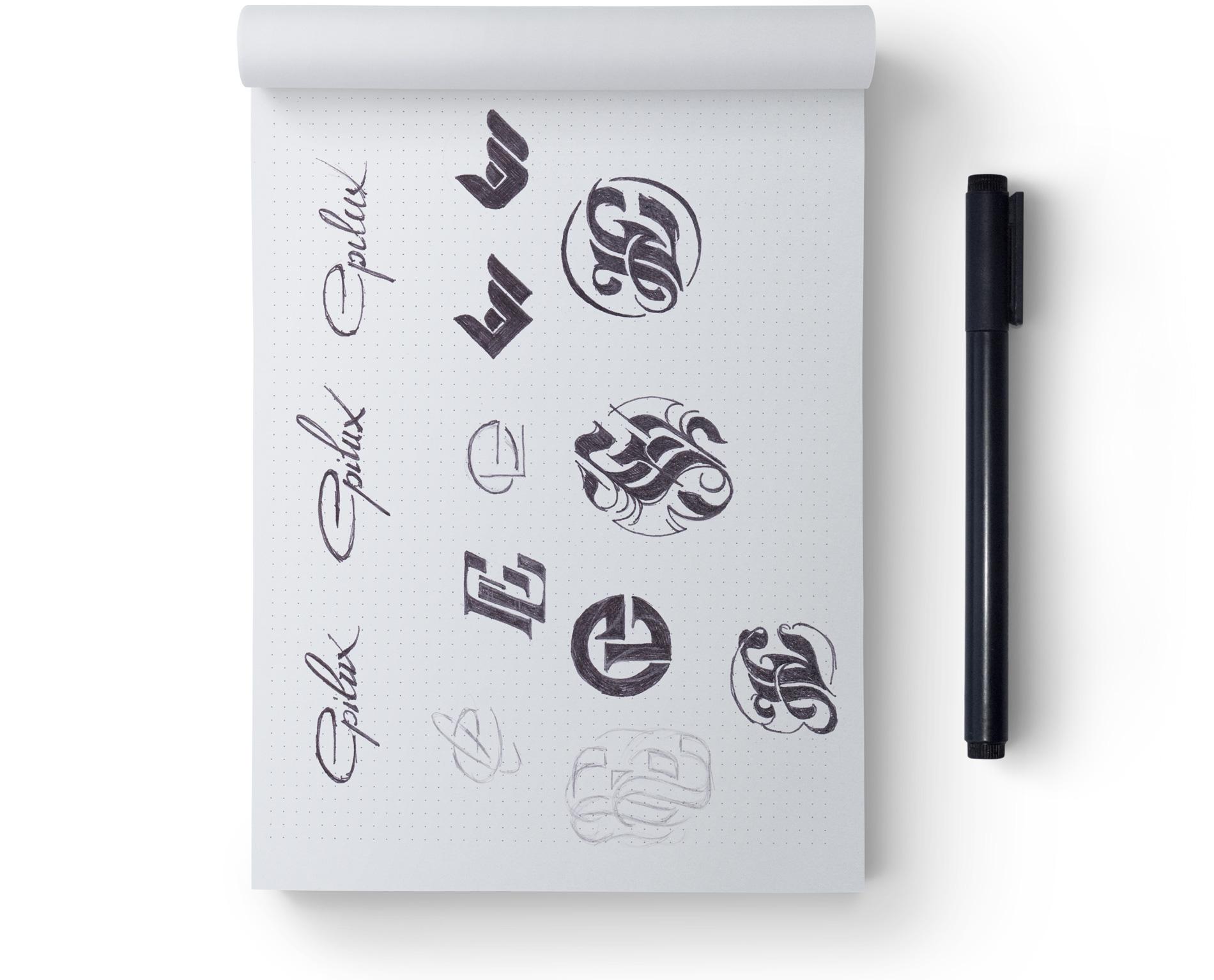 Разработка логотипа Epilux