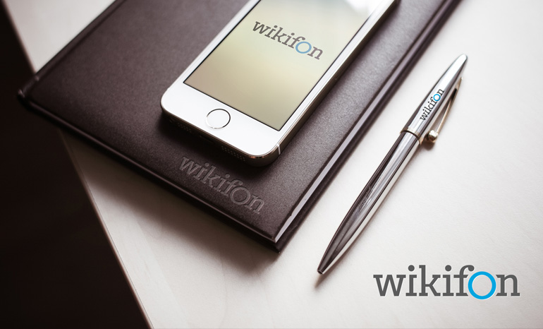 Разработка логотипа и фирменного стиля для интернет-проекта «Wikifon»
