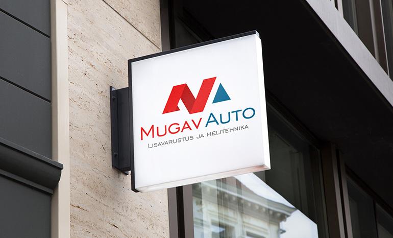 Разработка логотипа для компании MUGAV AUTO (Эстония)