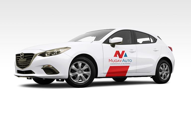 Разработка фирменного стиля для компании MUGAV AUTO (Эстония)