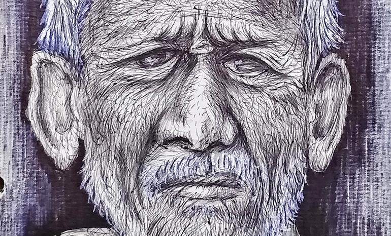 Мужской портрет 4